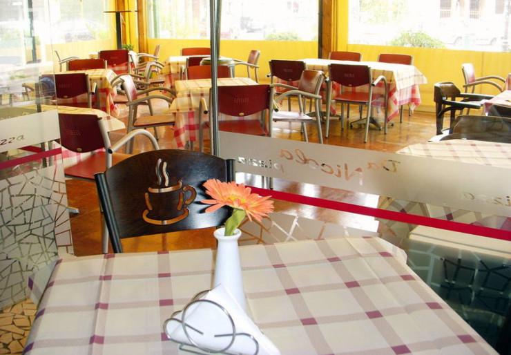 Πίτσα στο εστιατόριο «Da Nicola»