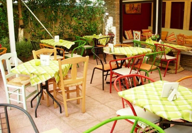 Η κήπος του εστιατορίου