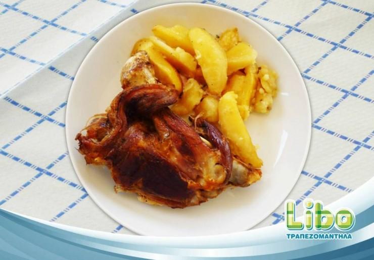 Συνταγή για κατσικάκι στον φούρνο