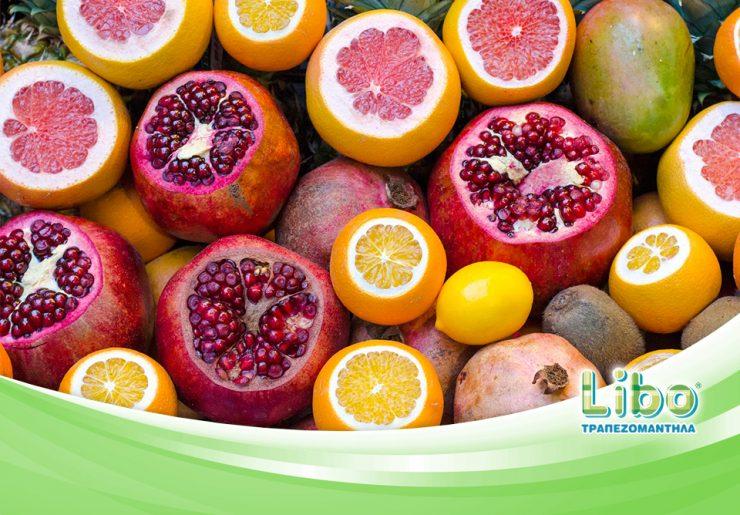 Φρούτα, ένα υγιεινό σνακ για το γραφείο