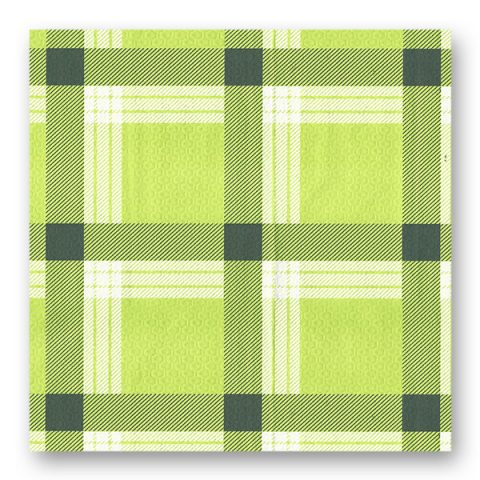 Πράσινο καρό τραπεζομάντηλο - σειρά 700