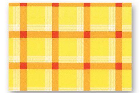 Κίτρινο καρό - σειρά 700