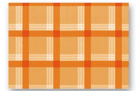 Πορτοκαλί καρό - σειρά 700