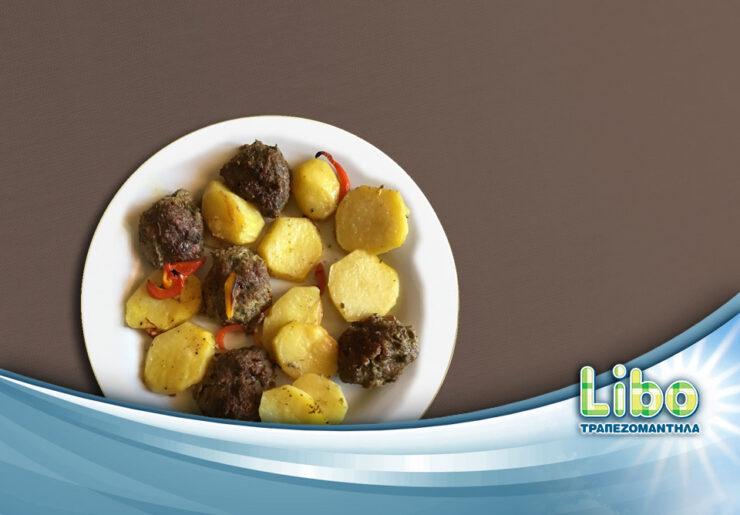 Κεφτεδάκια με πατάτες στη γάστρα γίνονται πιο υγιεινά
