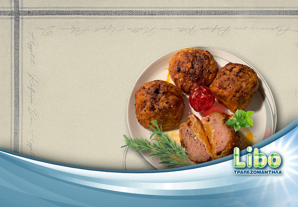 Συνταγή για μπιφτέκια με φύλλο σφολιάτας